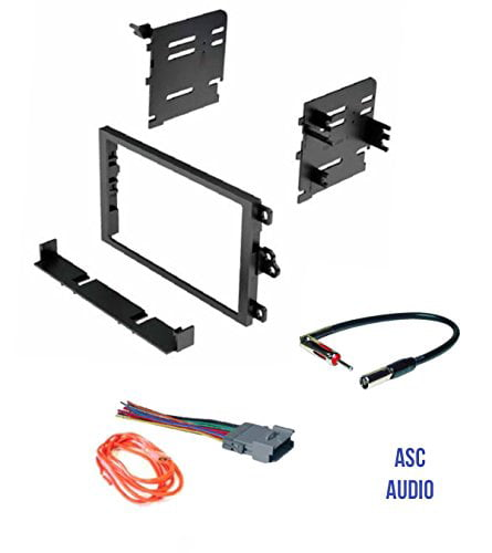 Wire Harness Compatible Vehicles Listed Below Other and Antenna Adapter for installing a Double Din Aftermarket Radio for some Nissan Vehicles Premium ASC Car Stereo Install Dash Kit