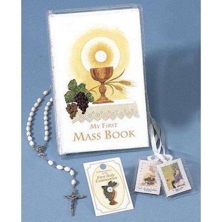 First Mass Book Vinyl Set : An Easy Way Of Participating At Mass For Boys And Girls First Mass Book Vinyl
