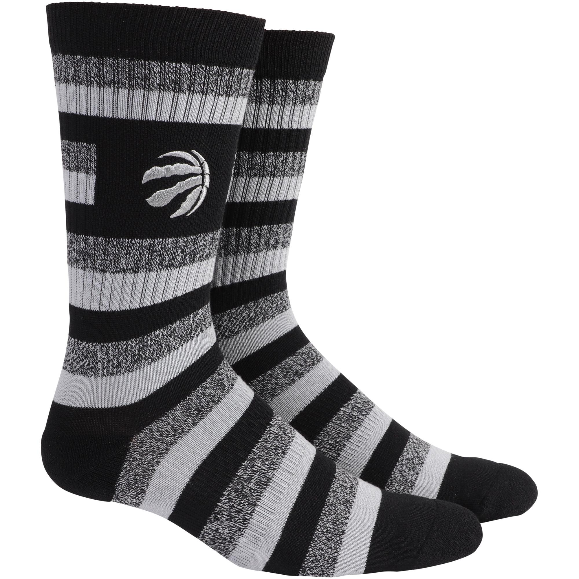 Toronto Raptors Step Crew Socks - L