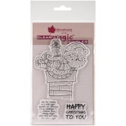 """Woodware Clear Stamps 3.5""""X5.5""""-Christmas Delivery"""