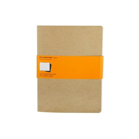 Large Ruled Journal (Moleskine Cahier Journal, 7.5