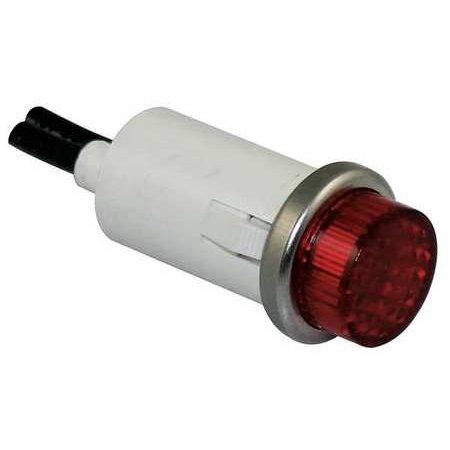 - DAYTON 22NY55 Raised Indicator Light,Red,240V