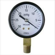 """2-1/2"""" 0 to 30"""" Vacuum Gauge Vacum Reading Vaccuum Pressure"""