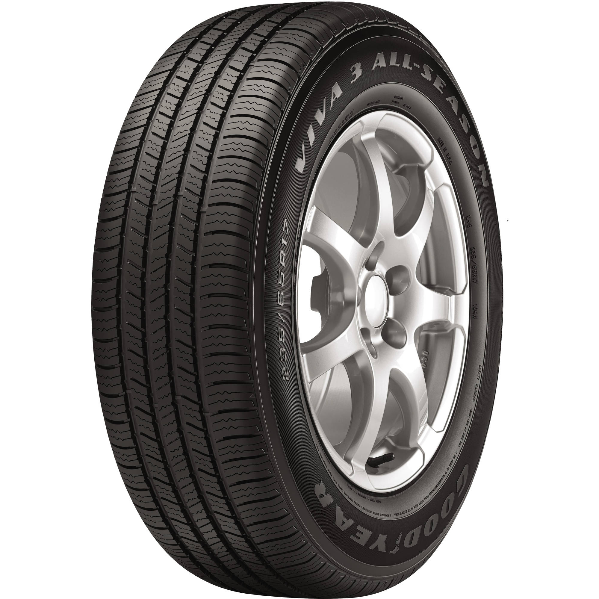 Goodyear Viva 3 All-Season Tire 225/55R17 97H