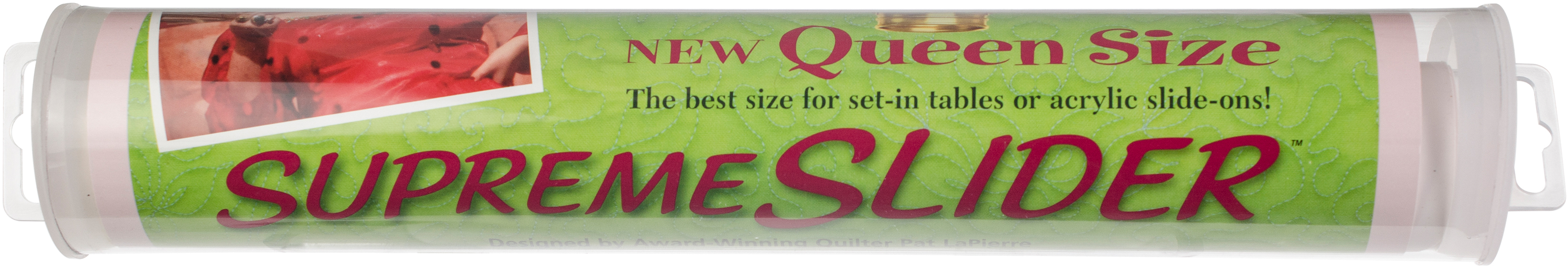 Free Motion QUEEN SIZE SUPREME SLIDER for Sewing Quilting Machines by LaPierre