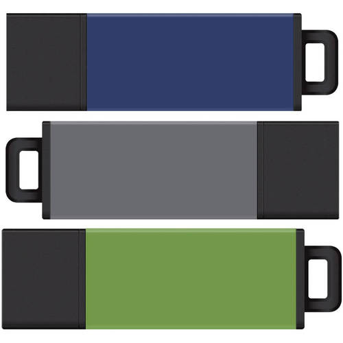 Centon Datastick Pro2 USB 2.0 Flash Drives, 16GB, 3 Pack