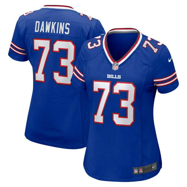 Dion Dawkins Buffalo Bills Nike Women's Game Jersey - Royal