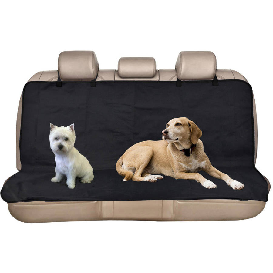 BDK Dog Cat Pet Seat Covers for Car Rear Bench, Waterproof, Easy Installation, 2 Sizes