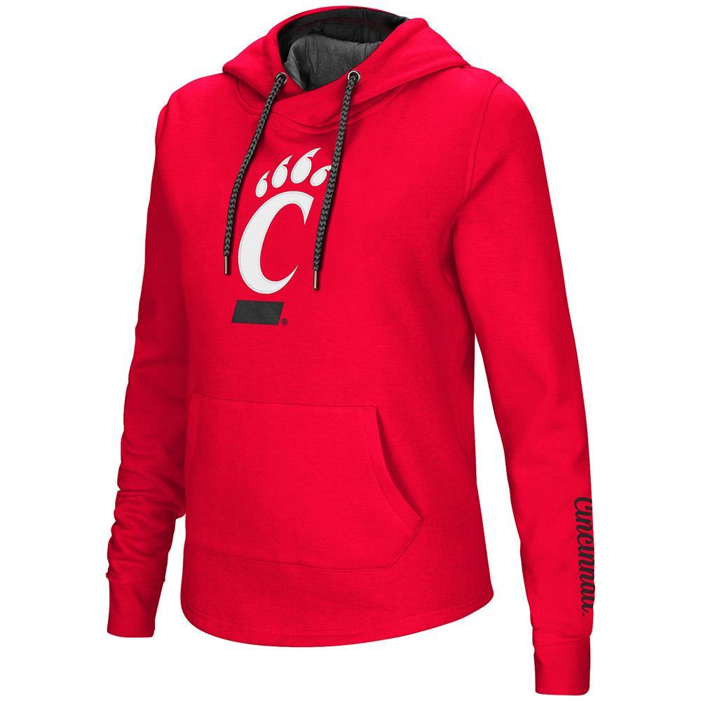 Womens Cincinnati Bearcats Pull-over Hoodie - XL