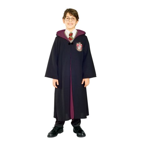 Harry Potter Gryffindor Robe Deluxe Child Unisex 884255 - Small (4-6)