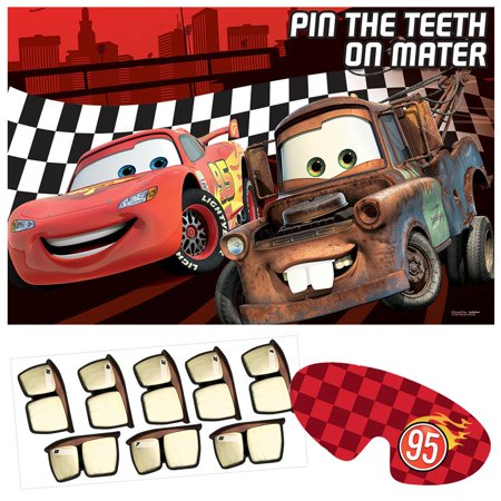 Disney Cars Party Game (Each) - Party Supplies