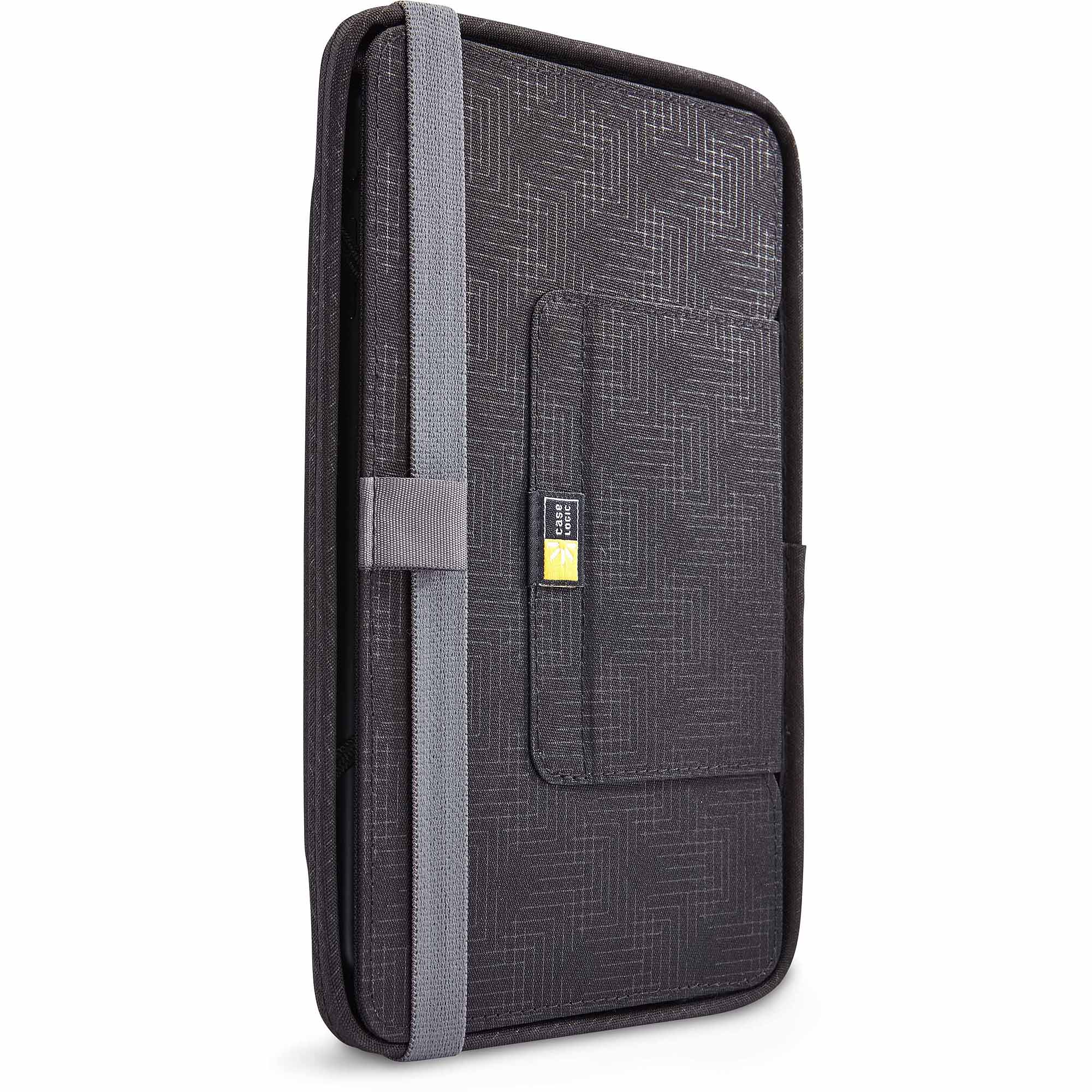 "Case Logic CQUE-3108 QuickFlip 8"" Tablet Case with In-Case Usability, Black by Case Logic"