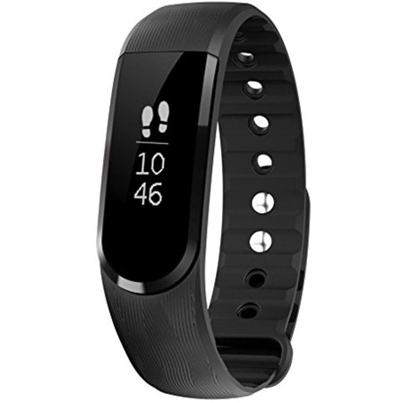 Letscom Fitness Tracker Watch  Bluetooth 4 0 Ip67 Waterproof Touch Screen Smart Bands With Activity Tracker For Iphone Android Smartphone Black