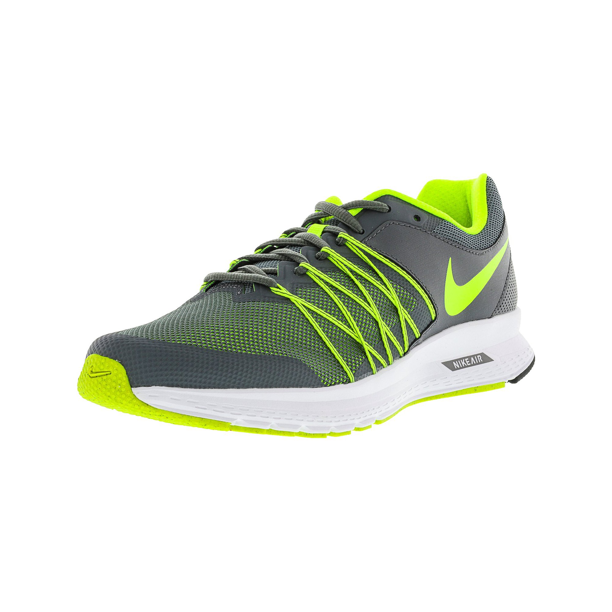 more photos dbace abfb0 Nike Men's Air Relentless 6 Cool Grey / Volt-Black-White ...