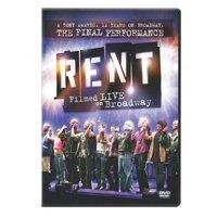 Rent: Filmed Live on Broadway (DVD)