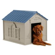 Suncast Deluxe Personalized Large Dog House DH 350