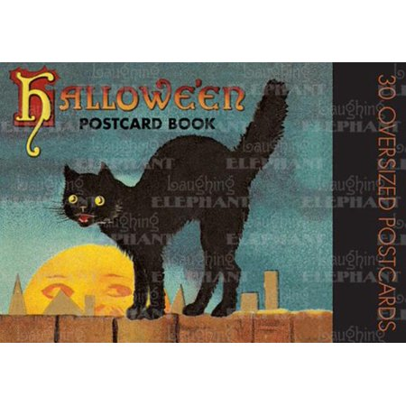Halloween Postcard Book - Origin Of Halloween Colors