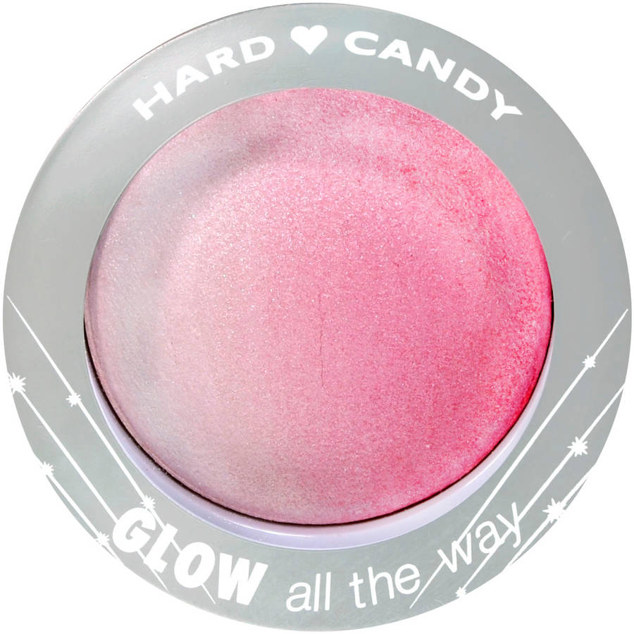 Hard Candy Glow All the Way Ombre Baked Blush, Coral