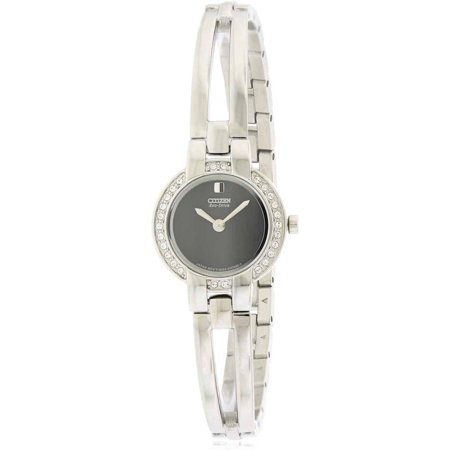 - Eco Drive Silhouette Bangle Women's Watch, EW9990-54E
