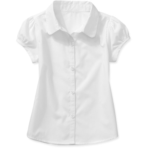George Toddler Girl Uniform Short Sleeve Blouse