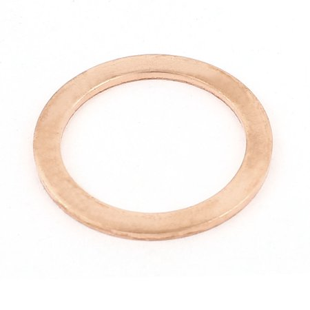 - 28mmx36mmx2mm Copper Washer Flat Ring Oil Drain Gasket Replacement