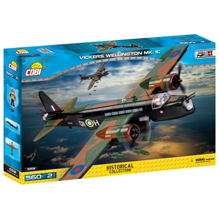 Vickers Standard (COBI Small Army - Historical Collection - Vickers Wellington Mk. 1C)
