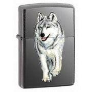 Zippo Wolf Lighter Black Ice   769
