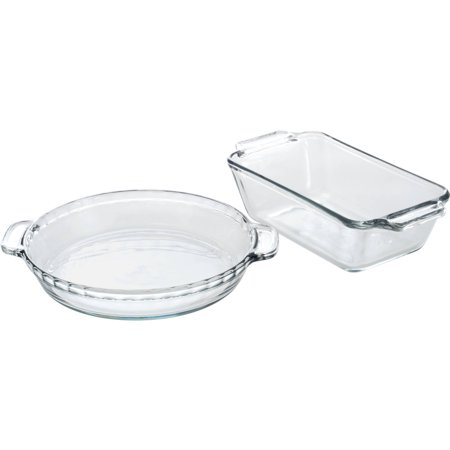 Anchor Hocking 11-Piece Glass Bakeware Set, Clear by