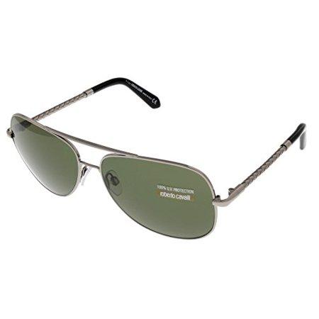 68b655a326 Roberto Cavalli - Roberto Cavalli Sunglasses Unisex Silver Aviator 100% UV  Protection RC837S 12N Size  Lens  Bridge  Temple  60-14-135 - Walmart.com