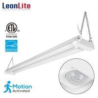 LEONLITE 4ft 40W LED Motion Sensor Shop Light for Garage, 5000K Daylight