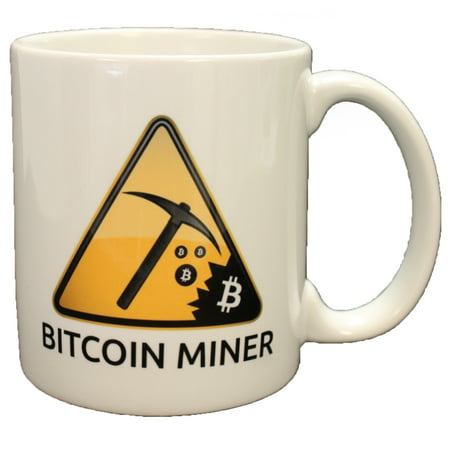 Bitcoin Miner Double Sided Coffee Mug Microwave & Dishwasher Safe!
