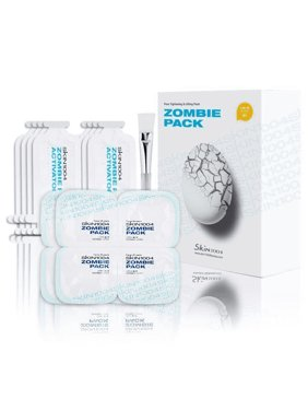 Skin1004 Zombie Pack & Activator Kit Wash-Off Face Mask, 8 Treatments