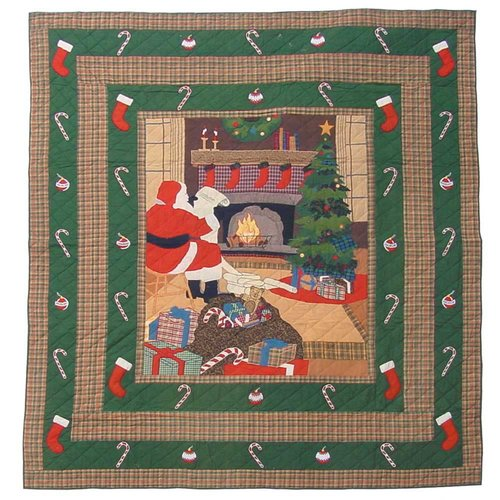 Patch Magic Santa By the Fireside Quilt