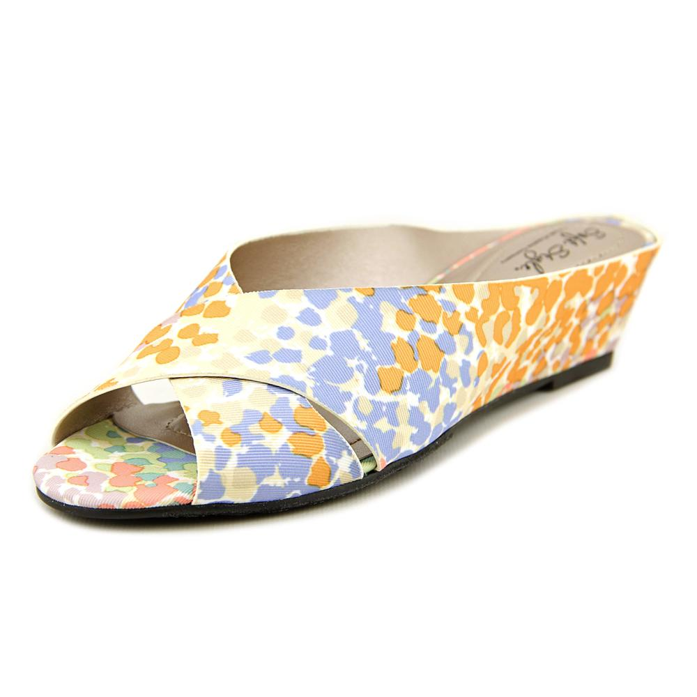 Soft Style by Hush Puppies Elida Women N/S Canvas Multi Color Slides Sandal