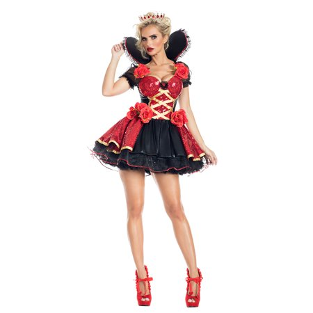 Heartthrob Queen Costume - 80s Prom King And Queen Costume