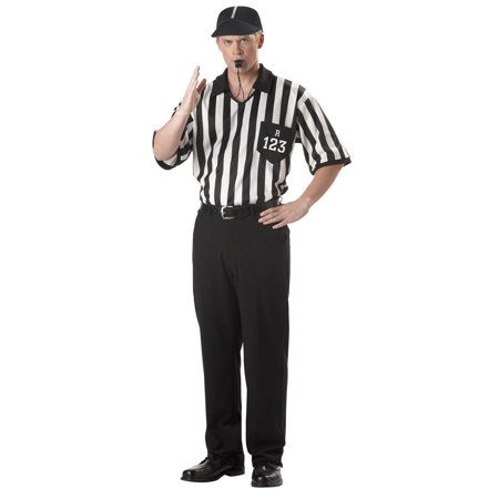 Referee Shirt Adult Costume for $<!---->
