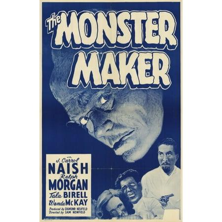 The Monster Maker Poster Movie Mini Promo