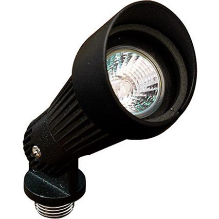 Dabmar Path Light (Dabmar Lighting LV203-LED7-B Hooded Mini LED Spot Light - 7W - MR16 12V, Black )