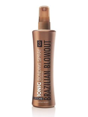 ($30 Value) Brazilian Blowout Ionic Bonding Hair Spray Step 3, 3.4 Oz