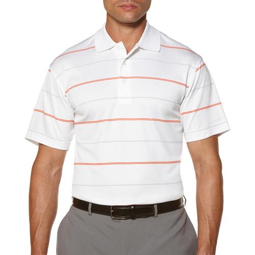 Ben Hogan Men's Short Sleeve Striped Print Polo