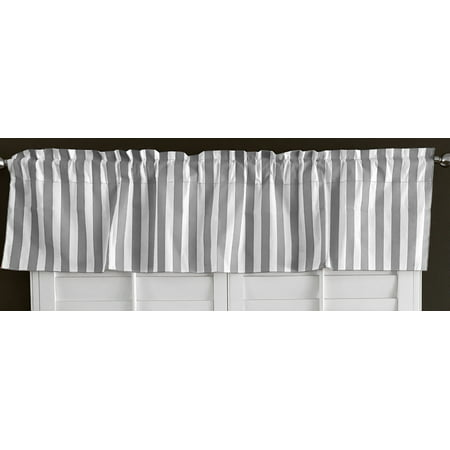 Cotton Stripe Window Valance 58