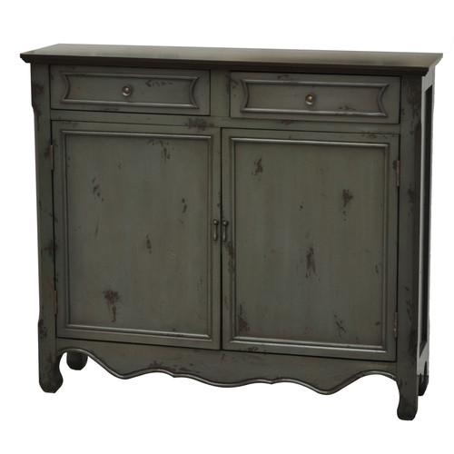 Crestview Collection 2 Door/2 Drawer Accent Cabinet