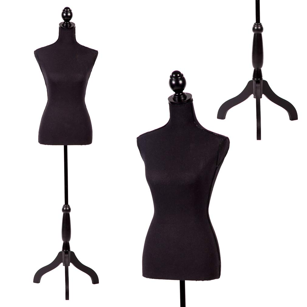 Set of Female Dress Plastic Mannequin Body Forms White Great for Displaying Small and Medium Sizes 2