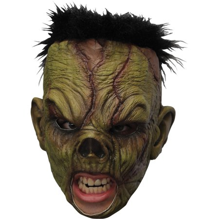 Monster Deluxe Chinless Latex Mask Adult Halloween Accessory