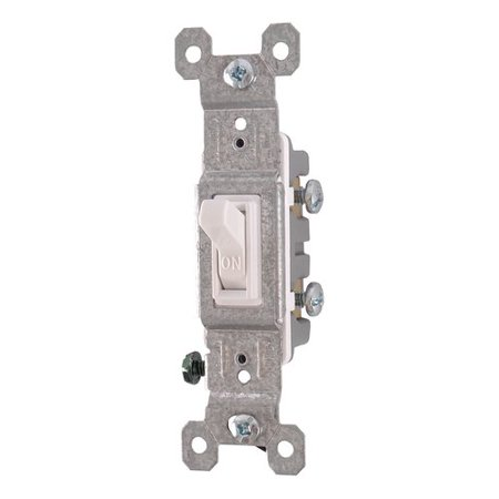 Replace Single Pole Switch (GE Single Pole Residential-Grade Switch, White)