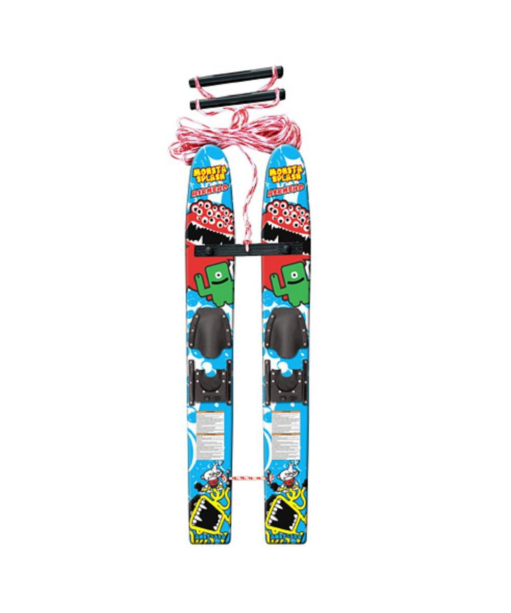 Kwik Tek AHST-110 Monsta Splash Trainer Water Skis by Kwik Tek
