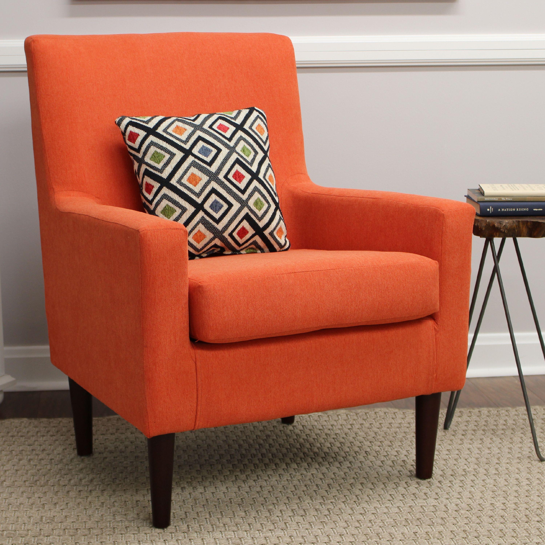 Emma Lounge Chair - Hacienda Orange