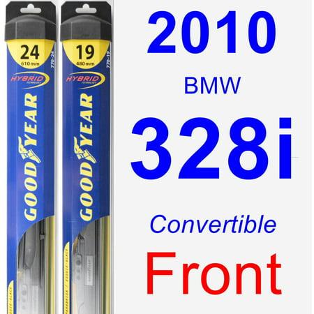 2010 BMW 328i Wiper Blade Set/Kit (Front) (2 Blades) - Hybrid