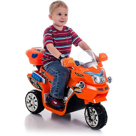 Lil 39 rider ride on toy 3 wheel motorcycle for kids for Motorized toys for boys