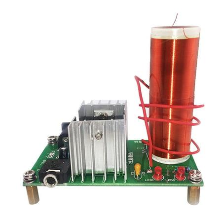 Mini Tesla Coil Plasma Speaker Kit Electronic Field Music DIY